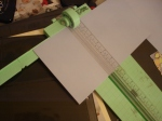 """My Favorite Paper Trimmer for Blocking...it has rulers vertically and horizontally, and cuts very easy 6"""" blocks because the arm swings down to create a 90 degree angle for you at 6"""".  I love this paper trimmer! (Name?)"""