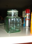 I LOVE these jars...no idea what I'll do with it, but for $.50, who could resist?