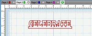 celebrate project life cut file